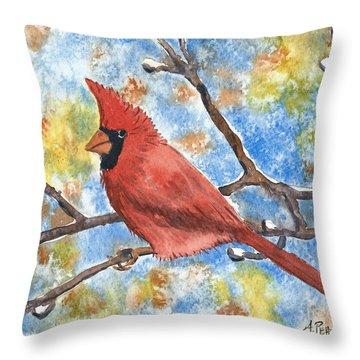 Cardinal Rule Throw Pillow
