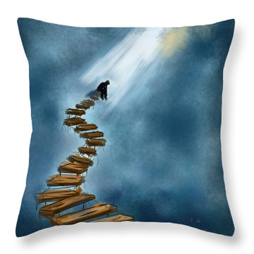 Career Throw Pillow