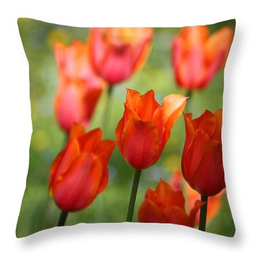 Throw Pillow featuring the photograph Caressed By The Wind by The Art Of Marilyn Ridoutt-Greene