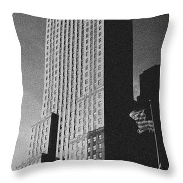 Carew Tower Throw Pillow
