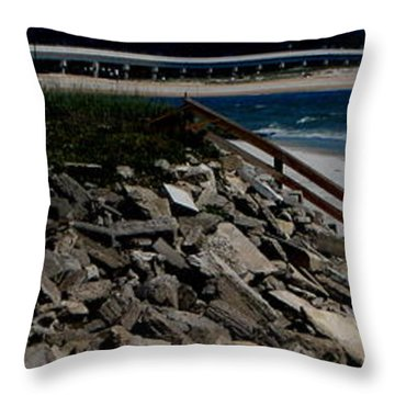 Caribbean Colors Throw Pillow by Greg Patzer