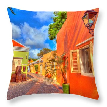 Caribbean Dream Throw Pillow