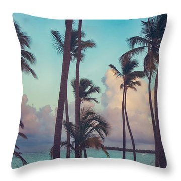 Caribbean Dreams Throw Pillow