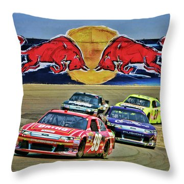 Carl Edwards Throw Pillow