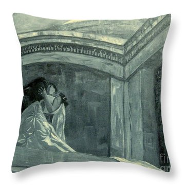 Carlos Wedding Throw Pillow by Gretchen Allen
