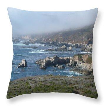 Carmel Coast Throw Pillow