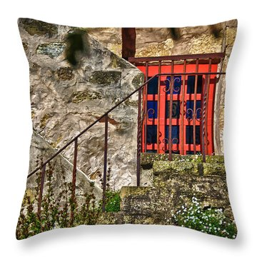 Carmel Mission 10 Throw Pillow