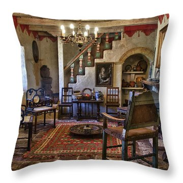 Carmel Mission 6 Throw Pillow