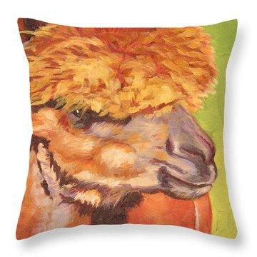 Carmencita Throw Pillow by Mary McInnis