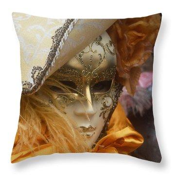 Carnevale Di Venezia 108 Throw Pillow