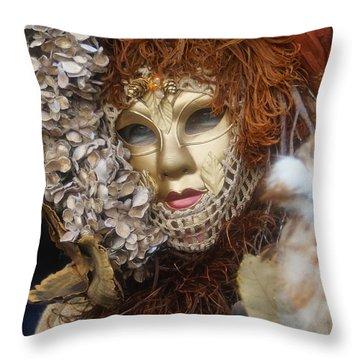Carnevale Di Venezia 130 Throw Pillow