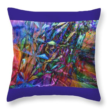 Throw Pillow featuring the photograph Carnival by Nareeta Martin