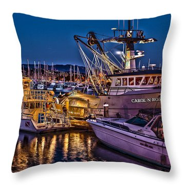 Carol N Rose Throw Pillow