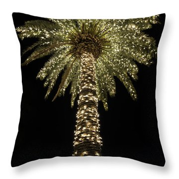 Carolina Christmas Throw Pillow by Serge Skiba