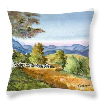 Carolina Piedmont High Meadow Throw Pillow