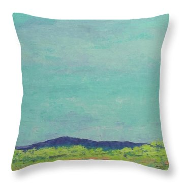 Carolina Spring Day Throw Pillow