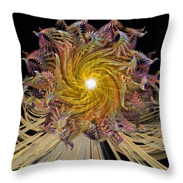 Carousel Throw Pillow by Michael Durst