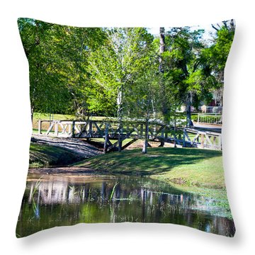 Carpenters Park 3 Throw Pillow