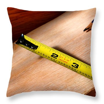 Carpentry Throw Pillow