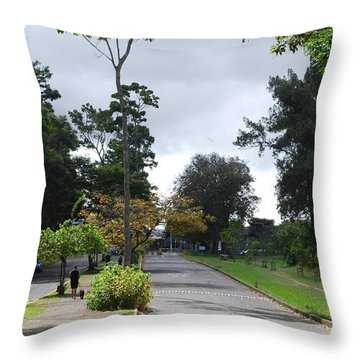 Carretera Throw Pillow