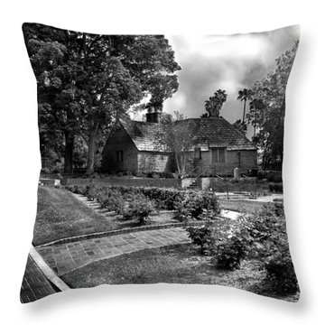 Carriage House Keeper By Denise Dube Throw Pillow