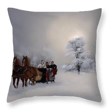 Carriage Throw Pillow