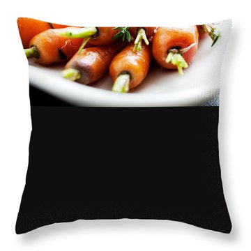 Carrot Throw Pillows