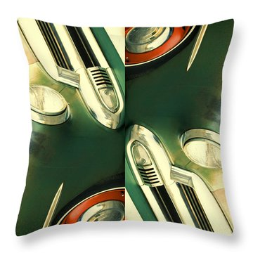 Carschach011 Throw Pillow