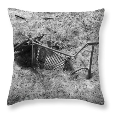 Cart Art No. 17 Throw Pillow