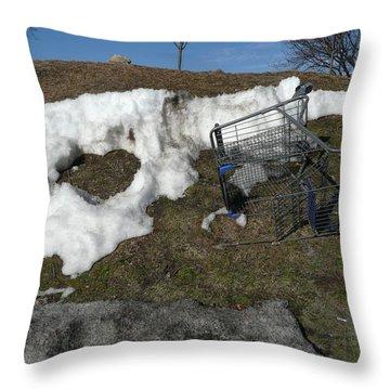 Cart Art No. 19 Throw Pillow