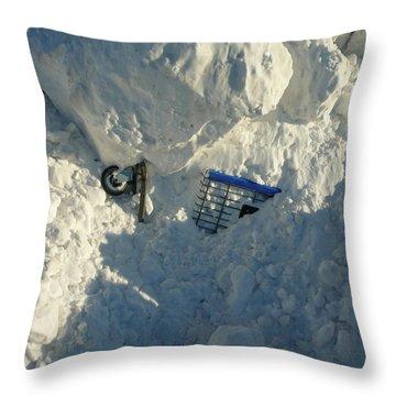 Cart Art No. 22 Throw Pillow