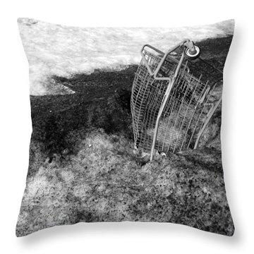 Cart Art No. 9 Throw Pillow