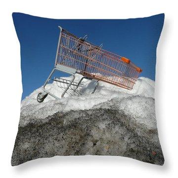Cart Art No.6 Throw Pillow