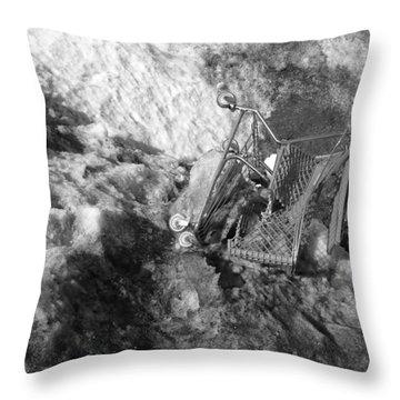 Cart Art No.7 Throw Pillow