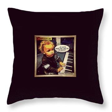 Beethoven Throw Pillows
