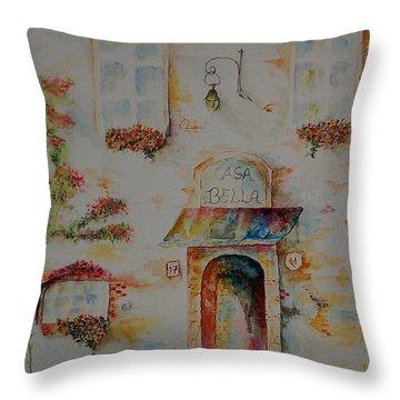 Casa Bella Throw Pillow