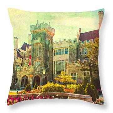 Casa Loma Series 03 Throw Pillow