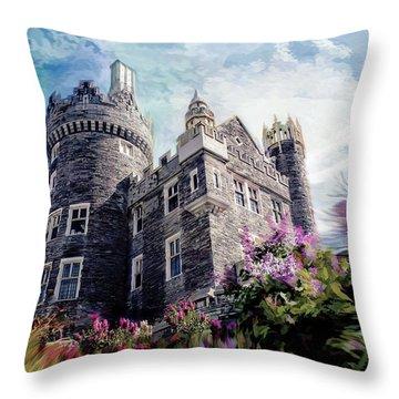 Casa Loma Series 08 Throw Pillow