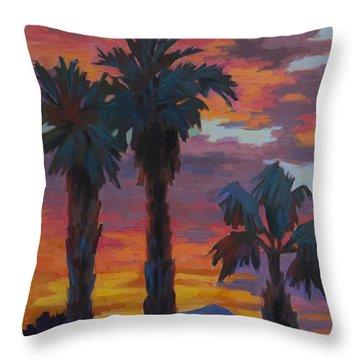 Casa Tecate Sunrise 2 Throw Pillow