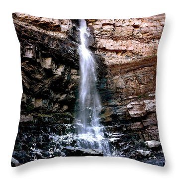Cascade Falls Throw Pillow