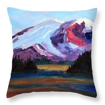Cascade Light Throw Pillow
