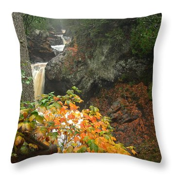 Cascading Steps Throw Pillow by James Peterson