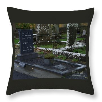 Cast A Cold Eye Throw Pillow