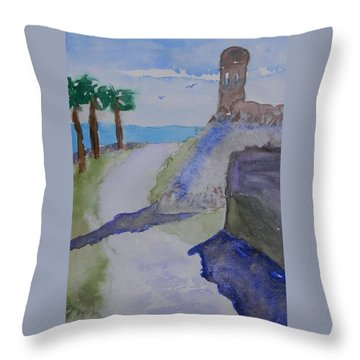 Castillo De San Marcos Throw Pillow by Jacob Kimmig