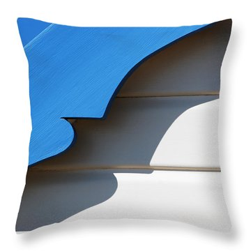 Casting A Shadow Throw Pillow