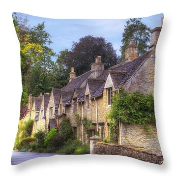 Castle Combe Throw Pillow by Joana Kruse