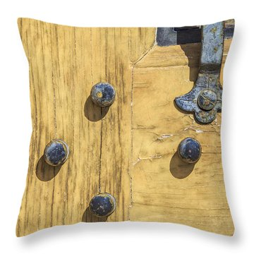 Castle Door II Throw Pillow
