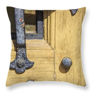 Castle Door IIi Throw Pillow