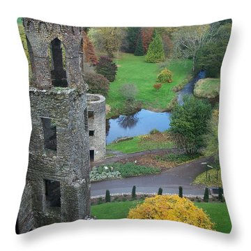Castle Keep Throw Pillow