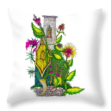 Castle Lock Throw Pillow